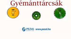 Új termékek - Gyémánttárcsák