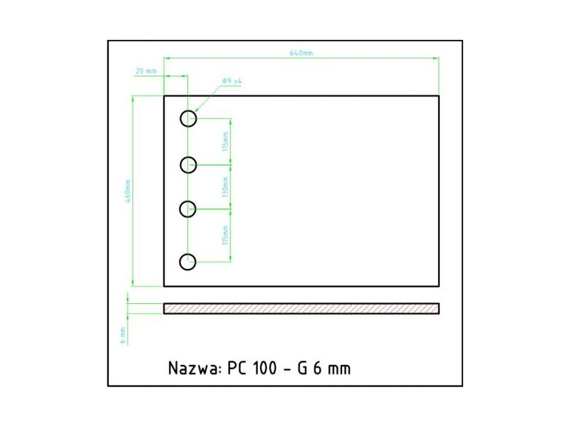 PC100 g6mm