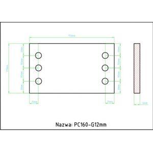 PC160 g12mm
